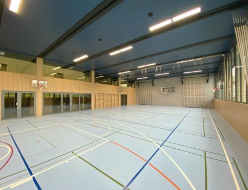 Travaux en cours – Rénovation d'une salle de gym à Apples